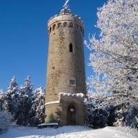 Kaiserturm im Winter